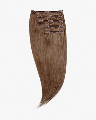 Naturalne włosy Clip In 45 cm 140g