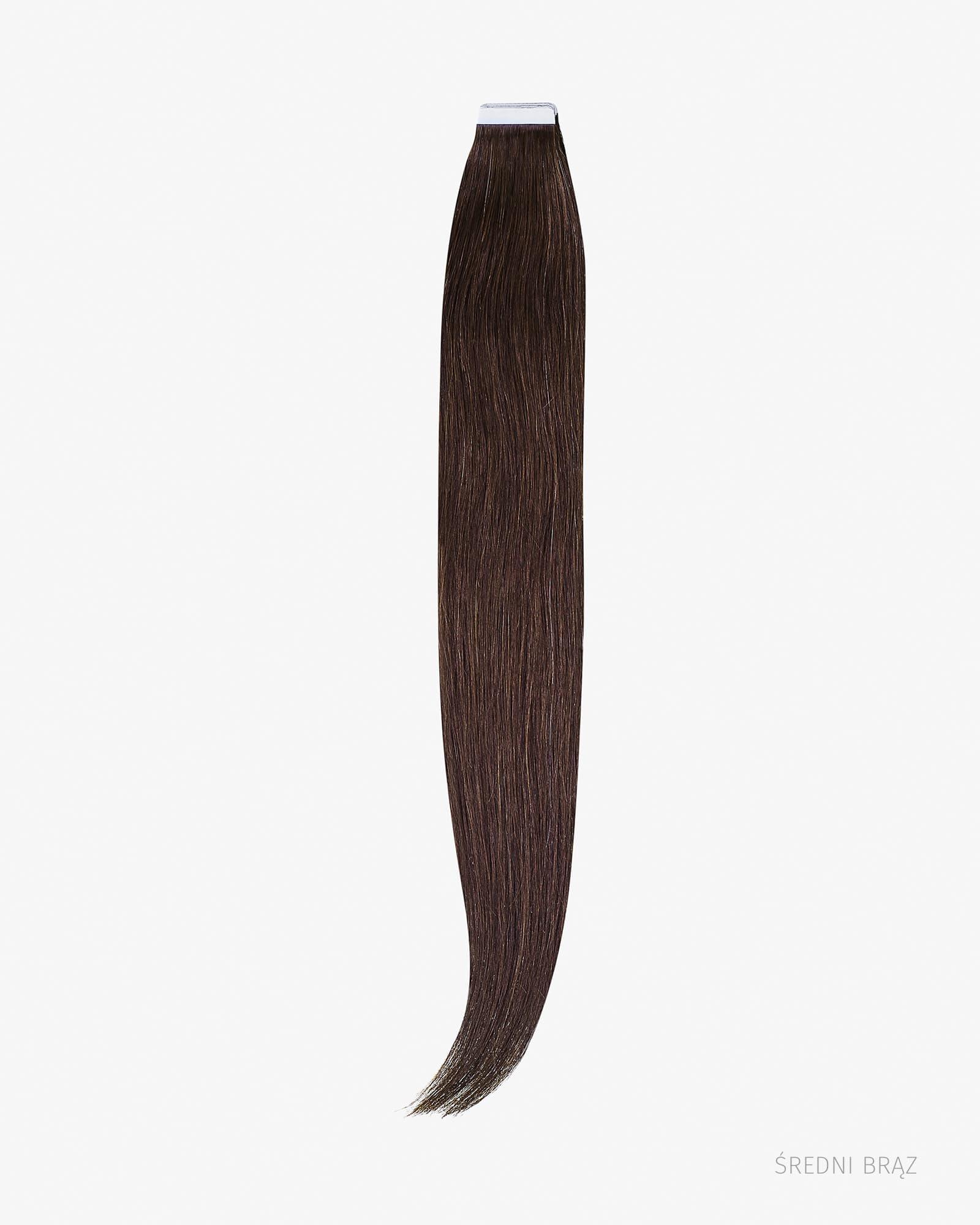Naturalne włosy Clip In 40 cm 75g