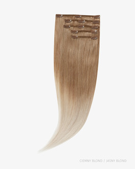 Naturalne włosy Clip In 55 cm 120g