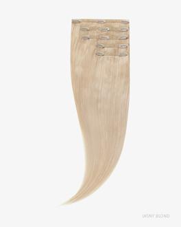 Naturalne włosy Clip In 45 cm 90g